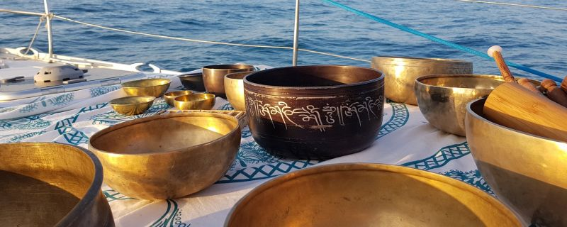 Armonizzazione in barca a vela con aperitivo