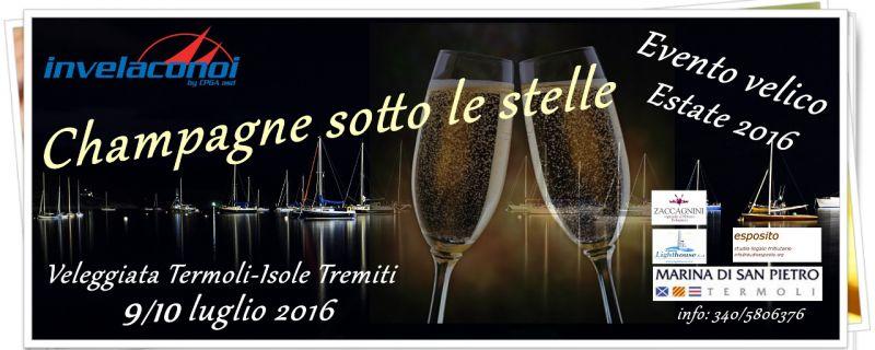 Champagne sotto le stelle con Invelaconoi!