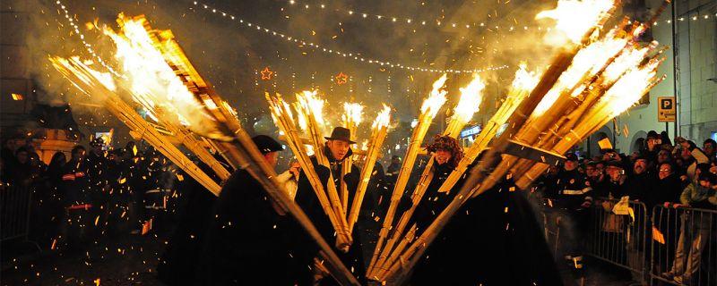 La 'Ndocciata..ad Agnone il più grande rito di fuoco nel mondo