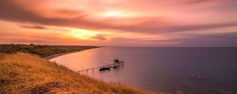 Punta Aderci: passeggiata al tramonto