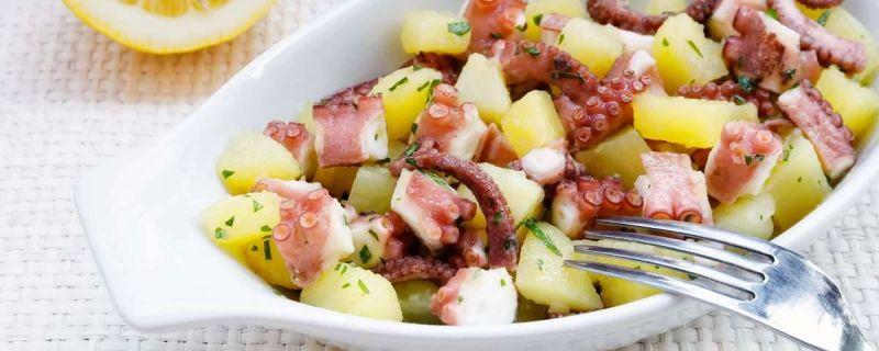 Ferragosto in barca: insalata di polpo e patate
